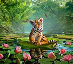 Tiger Lily by Jerry LoFaro | Whimsical | 2D | CGSociety