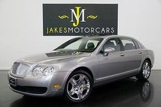 2006 Bentley Continental Flying Spur (4-PLACE SEATING) 2006 FLYING SPUR, RARE 4-PLACE SEATING, SILVER TEMPEST ON BLACK, PRISTINE CAR!