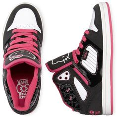 Vans(R) Allred Hello Kitty High-Top Sneakers by None, via Polyvore