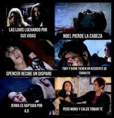 Read 1 from the story Memes de Pretty Little Liars [CONTIENE SPOILERS] by -voidnoah (🏳️🌈) with reads. Pretty Little Liars Netflix, Pretty Little Liars Characters, Pretty Little Liars Series, Preety Little Liars, Memes Pll, Funny Memes, Get Off Me, Let Me Down, Pll Frases