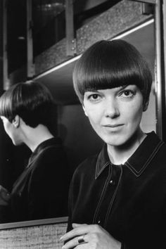 Vidal Sassoon's Most Famous Haircuts - Grace Coddington, Peggy Moffitt Hair Styles by Vidal Sassoon - ELLE