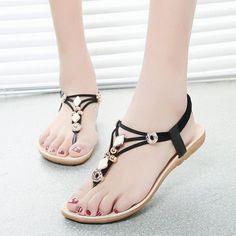 Chaussure, Chaussures Sandales Pour Femmes, Chaussures Plates, Sandales  Plates, Sandales À Sangles 7f831e96d6f3