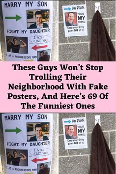 These Guys Won't Stop Trolling Their Neighborhood With Fake Posters, And Here's 69 Of The Funniest Ones Clean Funny Jokes, Lame Jokes, Terrible Jokes, Crazy Funny Memes, Love You Funny, Seriously Funny, I Love To Laugh, Really Funny, Funny Gags