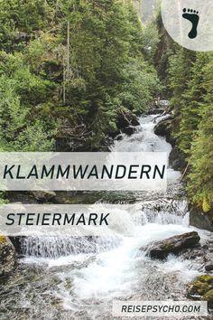 Du suchst nach einer Klammwanderung in der Steiermark? Dann lass dich von dieser Sammlung inspirieren! #klamm #steiermark #österreich #wasser #klammwanderung #wandern #hiking #natur #outdoor Hallstatt, Salzburg, Trekking, Tricks, Hiking, Outdoor, Europe, Travel Inspiration, Fun Places To Go