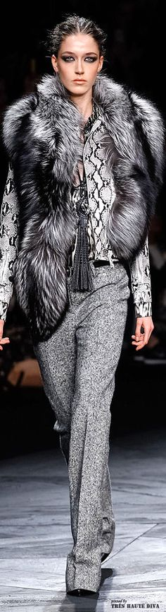 Milan Fashion Week Roberto Cavalli Fall/Winter 2014 | The House of Beccaria#2014