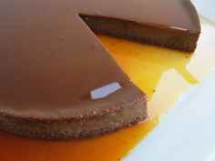 This recipe puts a spin on the classic flan by adding a dose of chocolate and a touch of cinnamon.