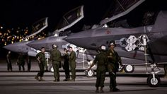F-35 Lightning Red Flag Exercises.