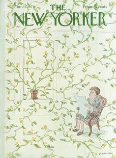 The New Yorker - Monday, March 15, 1976 - Issue # 2665 - Vol. 52 - N° 4 - Cover by : James Stevenson