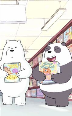 We Bare Bears Human, Ice Bear We Bare Bears, We Bear, Pardo Panda Y Polar, Panda Bear, Polar Bear, Cute Iphone Wallpaper Tumblr, We Bare Bears Wallpapers, Funny Doodles