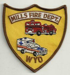 Mills Fire Department - #FirePatch #Firefighting #Setcom