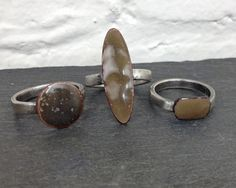 Torch Fired Rings - http://EsmaJewelry.com
