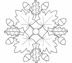 Autumn mandala coloring pages page egg ideas for toddlers christmas tree Mandala Coloring Pages, Colouring Pages, Coloring Pages For Kids, Coloring Books, Leaf Coloring, Wool Applique, Applique Patterns, Quilt Patterns, Quilting Designs