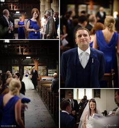 Documentary moments during a church ceremony in Bristol