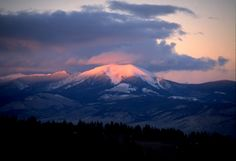 Mt. Baldy, NW of Dillon, MT.  It's great to have your camera along at dawn when elk hunting!
