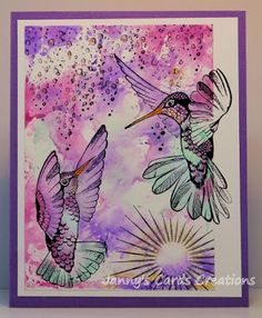 by Janny using Design by Ryn's Humming birds