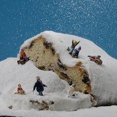 frohe weihnachten - Top Of The World Do Pi Ke Miniature Figures, Art Photography, Photo, Miniature Art, Miniatures, Mini Art, Miniature Photography, Art, Street Art