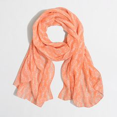 J.Crew+Factory+-+Factory+printed+long+lightweight+scarf