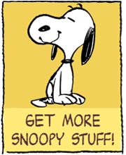 Mental note - Get More Snoopy stuff!