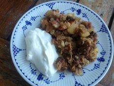 Rhubarb pai with a healthy twist