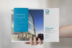 Business Proposal Landscape by FathurFateh on Creative Market