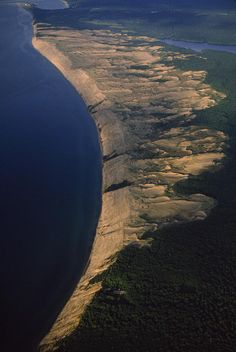 The Grand Sable Dunes along the shores of Lake Superior, Michigan