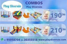 PLAY DIVERSÃO | Locação de Brinquedos para Festas Infantis
