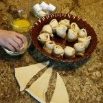Resurrection Rolls - fun easy and delicious activity to help preschoolers visualize the resurrection concept