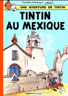 Tintin au Mexique Comic Book Artists, Comic Books, Tin Tin Cartoon, Album Tintin, Herge Tintin, Lucky Luke, Let's Have Fun, Amazing Adventures, Comic Covers