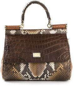 Dolce & Gabbana small 'Sicily' tote on shopstyle.co.uk