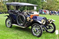 1912 EMF Model 30, manufactured at the plant on Piquette Ave. adjacent to the Ford Piquette plant
