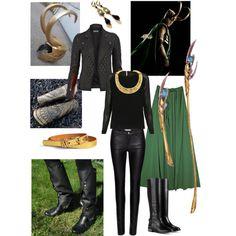 Loki cosplay / Disneybound