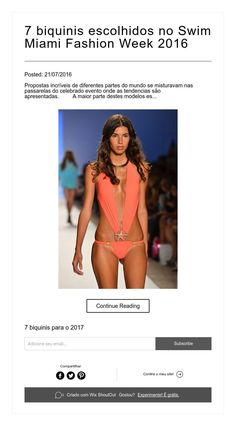 7 biquinis escolhidos no Swim Miami  Fashion Week 2016