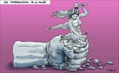Caricatura Alecus, Día Internacional de la Mujer
