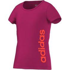YG ESS LIN TEE Mädchen T-Shirt - ADIDAS - 116 - T-Shirts   Tanks