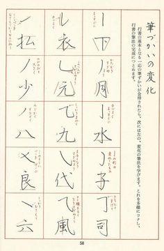 三上先生の御著書より2大 Japanese Typography, Japanese Calligraphy, How To Write Calligraphy, Calligraphy Art, Japanese Language, Chinese Language, Hiragana, Chinese Words, Japanese Characters