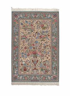 Isfahan extra fine, wool and silk - Carpet from Iran - 166 x 115   I Amir Rasty & filles - Oriental carpets in Geneva