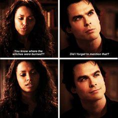 TVD Bonnie and Damon