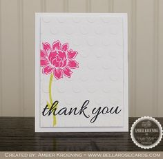 Bella Rose Cards: Uniko Studio Beautiful Blooms Revisited Quick Cards, Diy Cards, Handmade Cards, Studio Cards, Bella Rose, Flower Cards, Thank You Cards, Cardmaking, Projects To Try