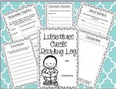 Literature Circle Idea and TPT Freebie 3rd Grade Pad : Hopping into the Love of Teaching Feet First!: Literature Circles