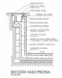 Resultado de imagen para planos de piletas
