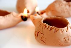 make your own oil lamps for an unforgettable YW activity and lesson