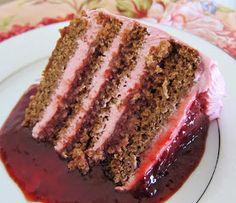 Vegan Spring Strawberry Cake
