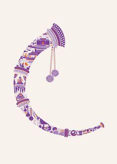 Mumbai based illustrator Lokesh karekar had the honour to create a set of eight illustrations for the Taj Vivanta - Luxury hotels. Indian Illustration, Car Illustration, Wedding Symbols, Rajasthani Art, Indian Folk Art, Indian Art Paintings, India Art, Indian Festivals, Mandala Art