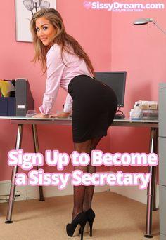 bondage Secretary pantyhose