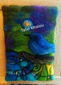 Tapestry Weaving, Loom Weaving, Nuno Felting, Needle Felting, Felt Angel, Felt Pictures, Wool Art, Felt Art, Handmade Design