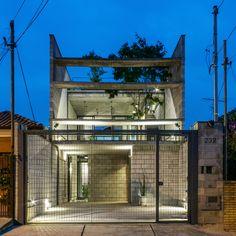 Galeria de Material em Foco: Casa Mipibu por Terra e Tuma Arquitetos Associados - 1