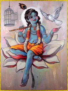 mynameisthomasalice: Art of Krishna is one of the main reasons I've stayed on Facebook.