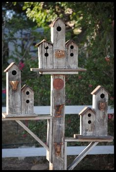 birdhouses | Birdhouses-- More the Merrier by ndlady