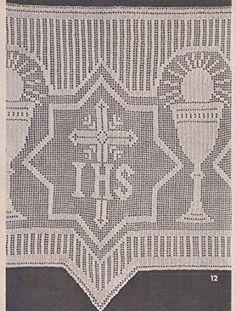 Resultado de imagen de crochet altar cloth patterns