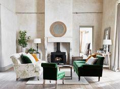 Neptune sofas, Olivia large sofa, George medium sofa, Madeleine chair, upholstery
